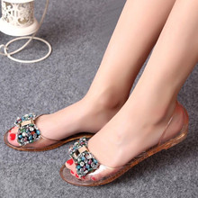 latest brands ladies women platform sandals jelly shoes beach sandals