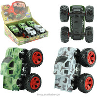 New 4 WD Power Bigfoot Wholesale Friction Toy Cars Reversible Off Road Set Toy HQ Plastic Cars