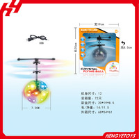 Good quality Infrared control hover ball flying ball helicopter with LED flashing light