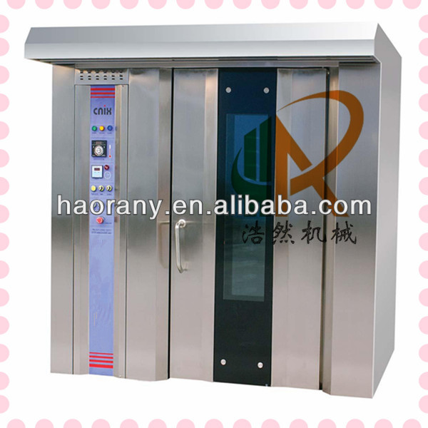 Hao Ran Brand 16 Trays Gas Rotary Oven