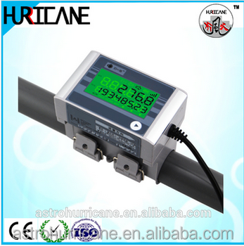 HURRICANE clamp on ultrasonic flow meter china