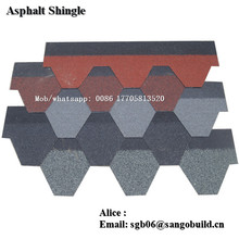 Cheaper Chinese Best Quality Asphalt Shingle roofing shingle price