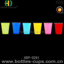 Factory Direct Price round ball shape plastic cup with straw