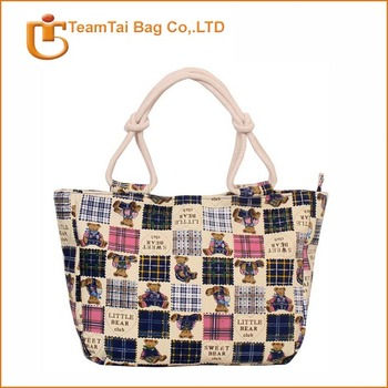 2014 wholesale waterproof beach tote bag