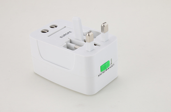 GOOD GOOD quality Dual USB Universal Travel Adapter multifunctional usb conversion socket travel adapter