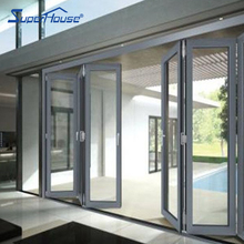 China supplier Australia Standard AS2047/As/Nzs2208 As1288 outdoor aluminium glass bi folding door