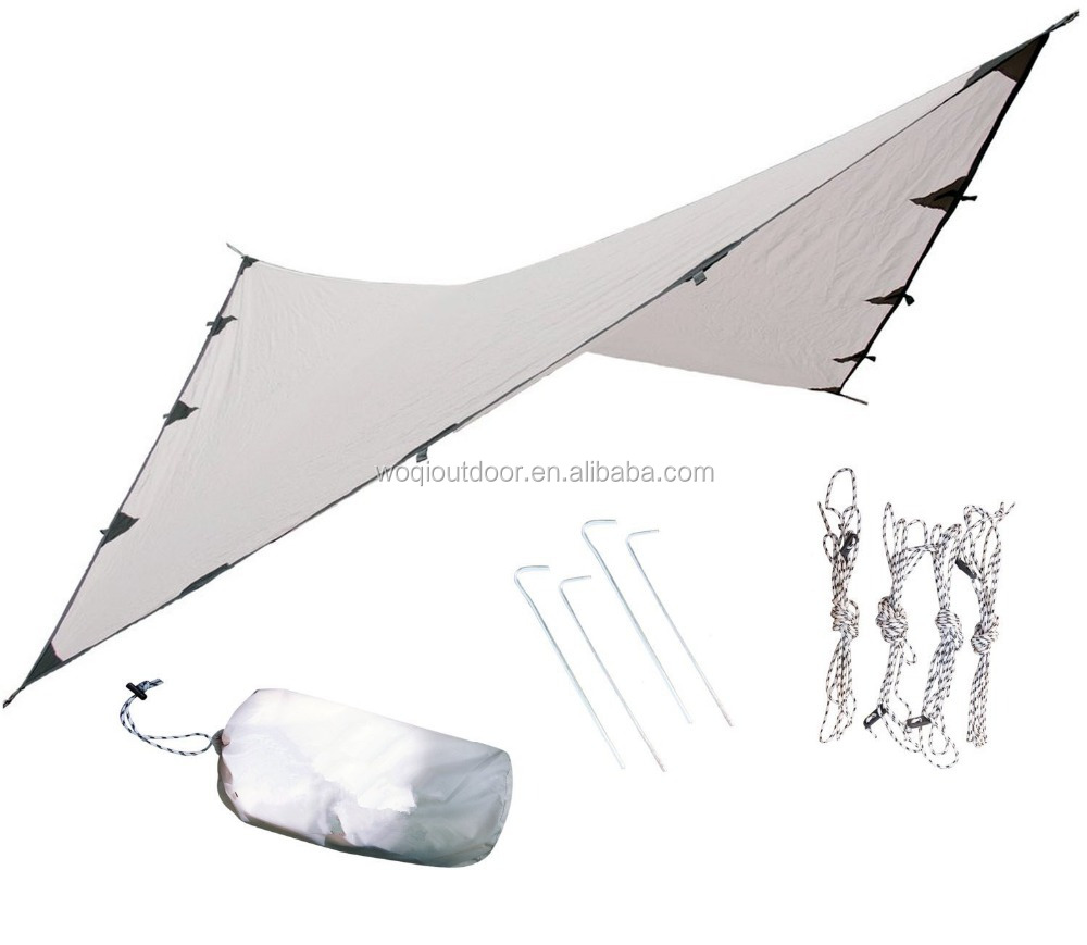 Woqi Waterproof lightweight Camping and Survival Tarp Shelter