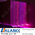 Shimmering fiber optic curtain for Multi Sensory Room