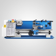 "550W 7""x14"" Woodworking Bench Top Mini Metal Lathe"