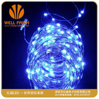 Dimmable Led String Lights Copper Wire 20ft LED Starry Light with UL certified