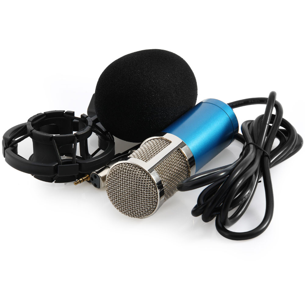 BM800 Microphone Dynamic Condenser For Video Recording With Metal Shock Mount