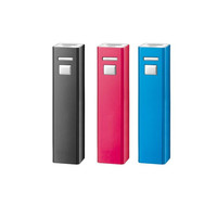 Popular 2600mAh Portable Charge Phone Lipstick Power Bank Mobile Battery Charger