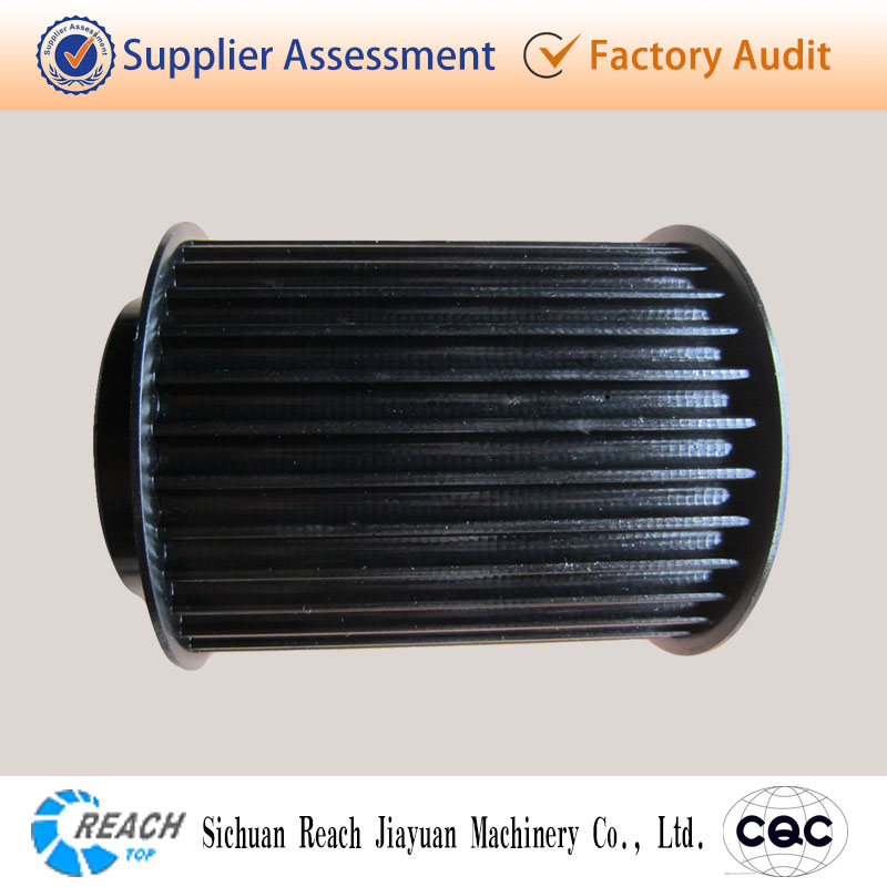 high precision HTD straight bore timing belt pulley