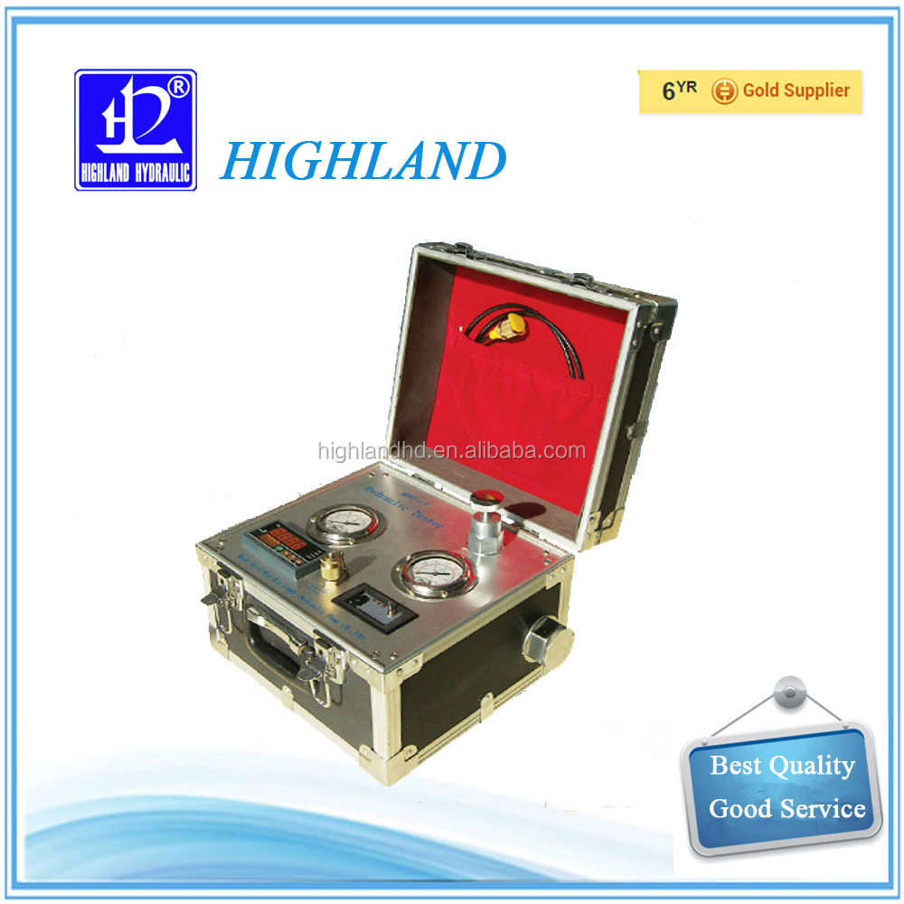 Highland China supplier hydraulic oil flow meter