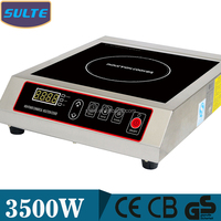 Energy-Saving Temperature Sensor Flat Induction Cooktop