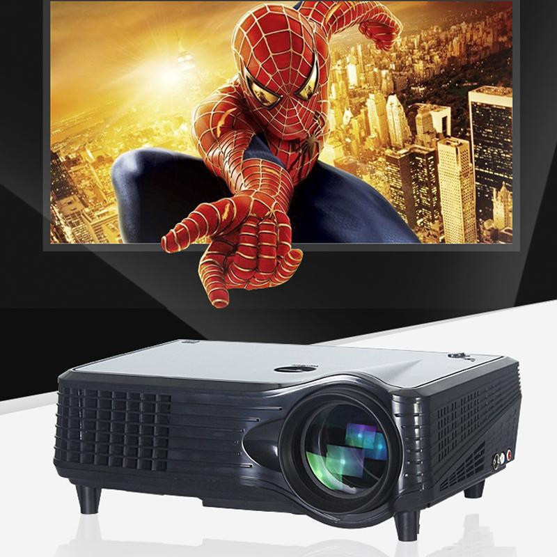 CRE X300 lumens led logo home cinema projector with USB port