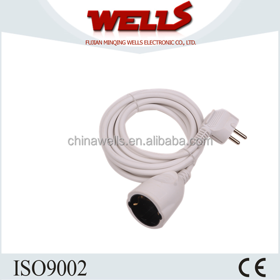 Electric extension cord,european standard ac power cord