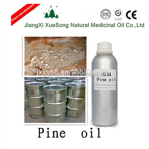 Pure natural pine needle and nut extract pine oil for solvent