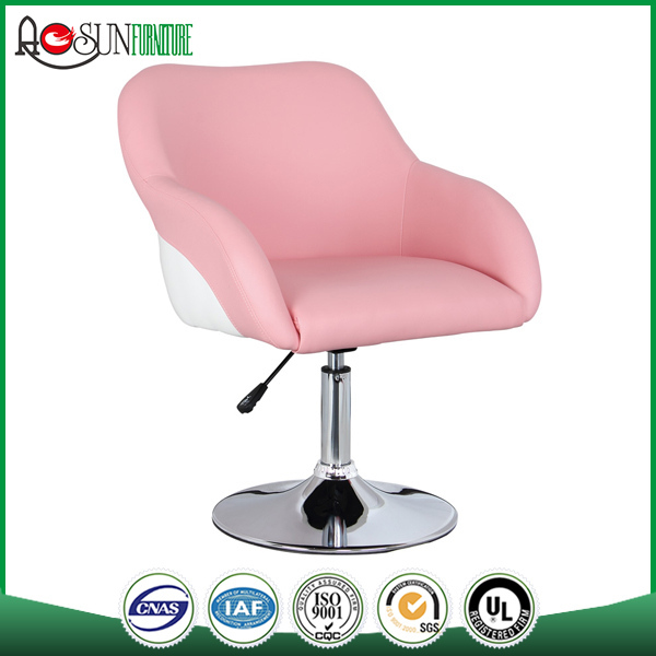 Bar furniture set supplier ISO 9001 Leather pu seat/bar chair
