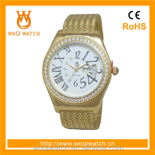 ladies hand chain watch factory pimp watch