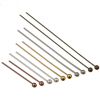 XULIN Wholesale Metal Accessories Brass Jewelry Findings Ball Head Pins for jewelry beading