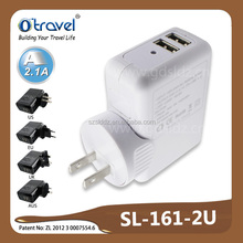 Best selling dual USB electrical plug for wholesell trading market in walmart