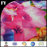 Embroidered Silk Fabric Pattern 100% Digital Printing Design