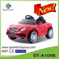 Trade Assurance Four Wheel Child Drivable Toy Car 12V Electric Car Children