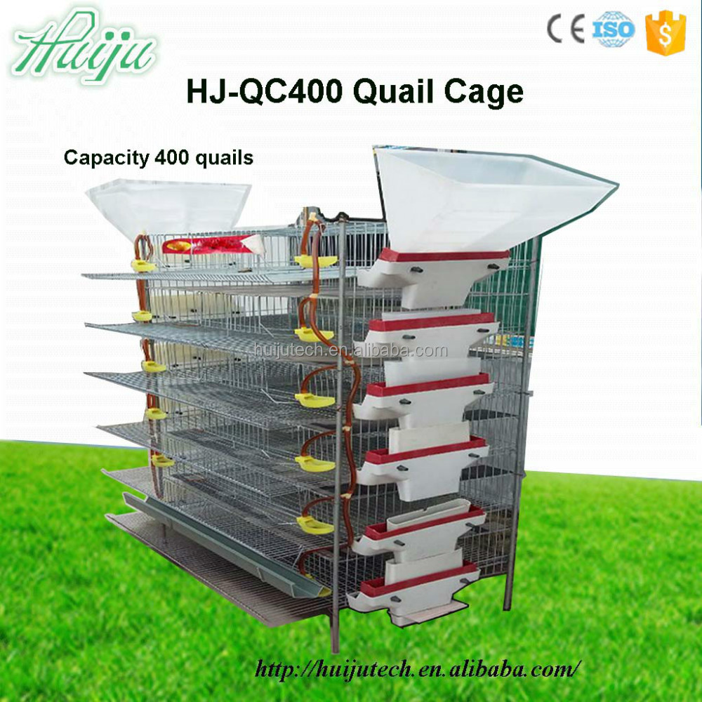 chicken cage farm machine pet cage with large capacity wire cage / poultry cage / quail cages for sale HJ-QC400