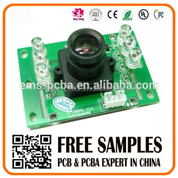 cctv board camera PCB and PCB assembly oem