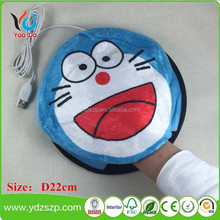 Cartoon USB Warm Hand Heated Mouse Pad