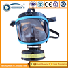 Cylindrical full face anti-gas mask for military and civil defence using/active carbon filter mask/mask with filter