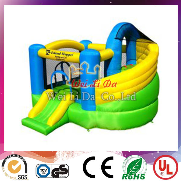 Happy Christmas Inflatable Slide, inflatable water slide, Christmas house Inflatable bouncer slide