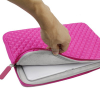 "13.3"" High Quality Foam Laptop notebook computer case/bag/sleeve for macbook"