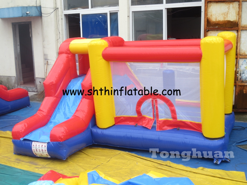 commercial inflatable jumping bouncer slide for sale