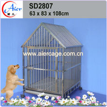 strong cage pet cage dog carrier black dog cage