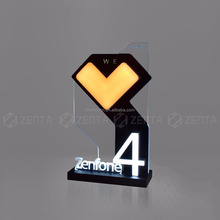 Counter Top Display Promotion Led Stand Mobile Phone Accessories Factory In China