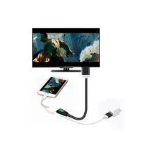 Digital AV Video Adapter, Mini HD MI Adapter To Mirror for iPhone/iPad to a big screen TV Support 1080p HD Monitor <strong>Projector</strong>