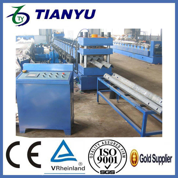 used in UAE highway guardrail crash barrier machine price