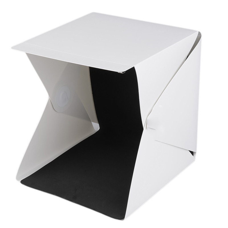 Promotional mini photo studio box with 2 backdrops for Asian market