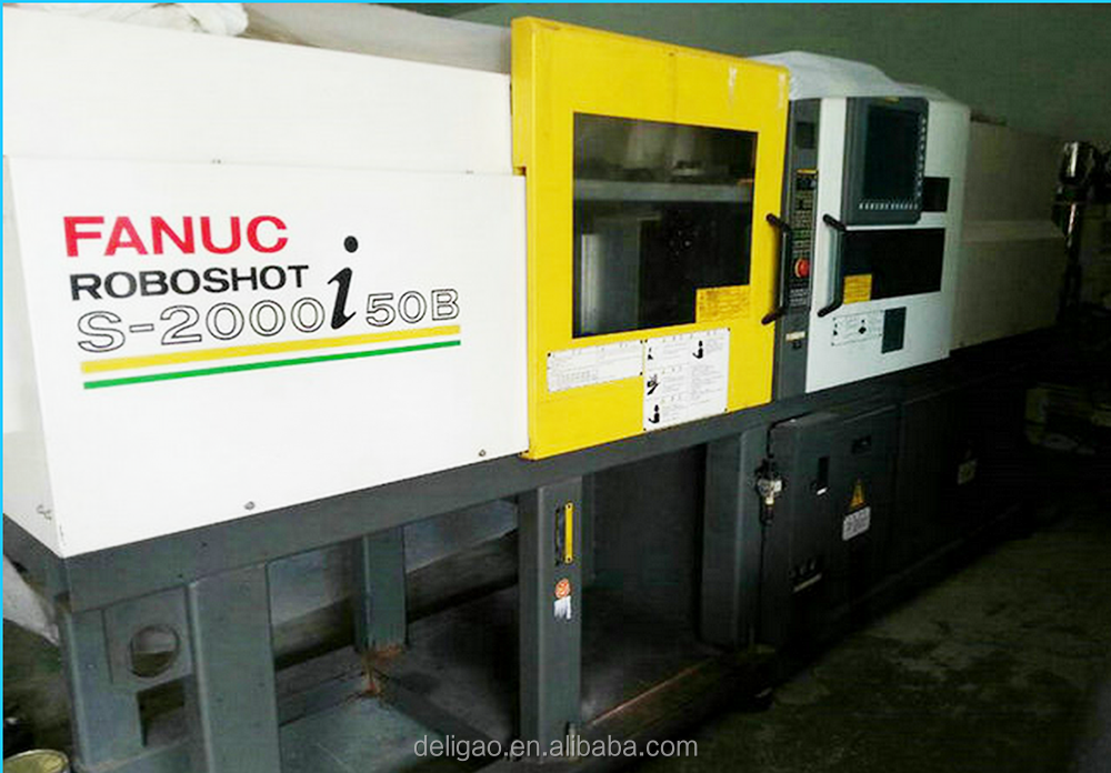 used fanuc injection molding machine