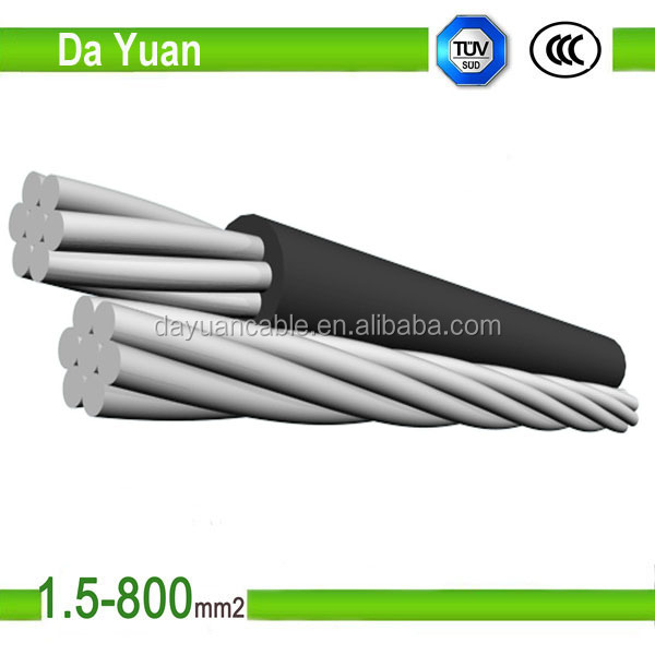 Factory price high quality concentric cable aerial overhead cable