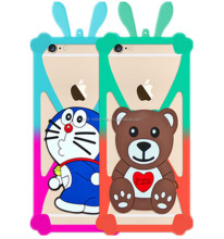 Carton Animal Cute Phone Case/3D Custom Silicone Phone Case
