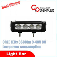 "9"" 40 watt high power universal auto LED light bar, liner bar"