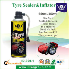 450ml high quality China flat liquid tire sealant