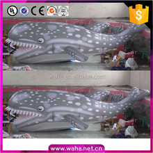 custom large inflatable shark replicas for decoration advertising