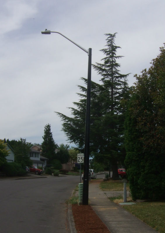 fiberglass street lighting poles