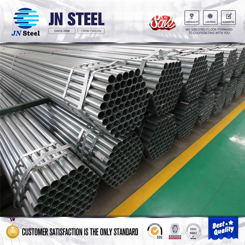 ms square pipe electrical wire conduit hot galvanized steel pipe HDG CARBON PIPE