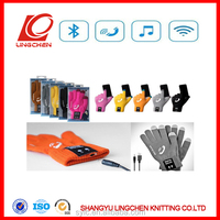 Bluetooth touch screen gloves,bluetooth gloves,bluetooth talking gloves for mobie phone