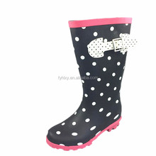 American styles waterproof shoes kids wellies girls rain boots